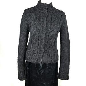 Edun Dark Gray Alpaca/Wool/Cotton Sweater